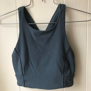 lululemon athletica Intimates & Sleepwear - Lululemon Simply Bare Bra NULU Size 2 Caspian Blue